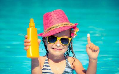 Niños y protección solar