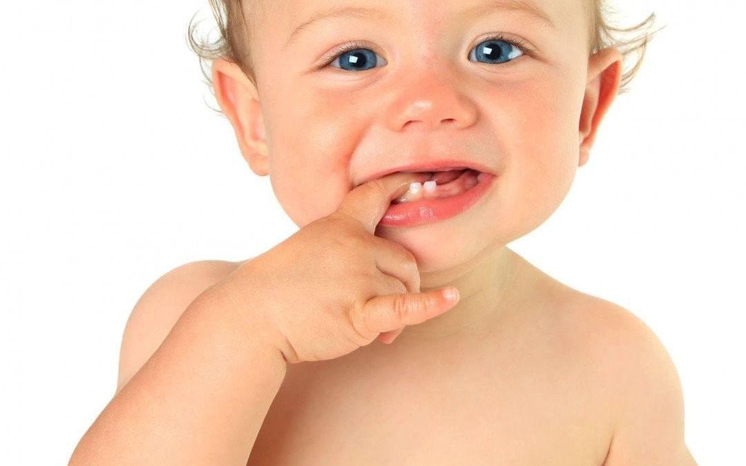 Le están saliendo los dientes a mi bebé